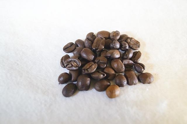 ジュピター Sクラスブレンド豆の状態