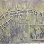 大阪中之島に架かる橋のイルミネーション@大阪・光の饗宴2014