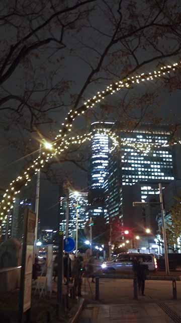 OSAKA光のルネサンス御堂筋