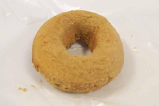 香ばしきなこの豆乳ドーナツ