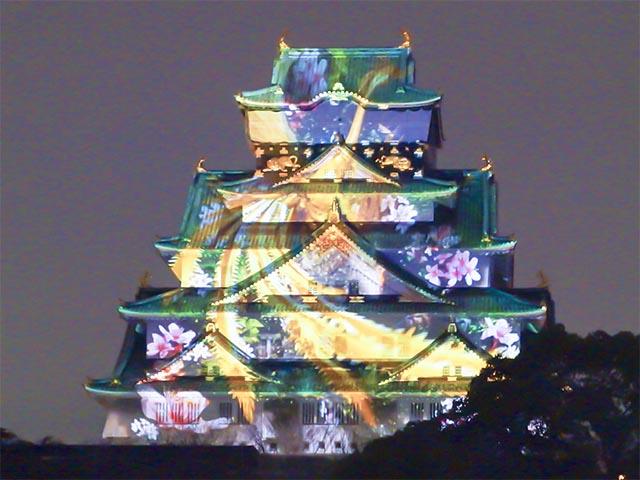 大阪城プロジェクションマッピング2014-2015感想!お金を出す価値十分あり!