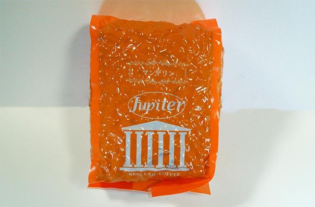 ジュピターコーヒーのマンデリンは意外にもフルーティーで甘いコーヒーでした