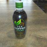 「TEA COFFEE ブラック×煎茶」を飲んでみた!結論:コーヒーではないが美味い!