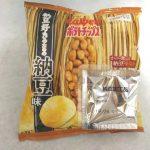 「カルビーポテトチップス納豆好きのための納豆味」を食べてみた!容赦ない納豆のネバネバ感とパリッとしたポテチの食感が…