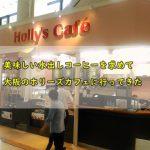 美味しい水出しコーヒーを求めて大阪のホリーズカフェに行ってきた